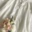 เสื้อผ้าแฟชั่นเกาหลี Lady Ribbon Thailand Seoul Secret Say'...Lace Embroidered Cotton Blouse White Circle Korea Style thumbnail 5