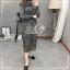 Elisa made Classy pleaty feminine see through Modern Dress thumbnail 7