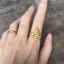 แหวนพญานาคพลอยนพเก้า เรือนทองแท้ พลอยนพเก้าแท้ เพชรแท้ thumbnail 3