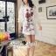 Seoul Secret Say's... Valent Rosey Smokking Dress thumbnail 5