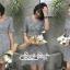 เสื้อผ้าแฟชั่นเกาหลี Lady Ribbon Thailand Seoul Secret Say'...Minidress Scott Black&White Luke Pretty Lady thumbnail 3