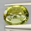 พลอยเพอริดอท (Peridot) พลอยธรรมชาติแท้ น้ำหนัก 1.05 กะรัต thumbnail 3