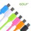 สายชาร์จ Micro USB GOLF Colorful สายกลมยาว 1 เมตร thumbnail 1