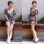 เสื้อผ้าแฟชั่นเกาหลี Lady Ribbon Thailand Normal Ally Present Zara flower print in Summer thumbnail 2