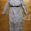 เสื้อผ้าแฟชั่นเกาหลี Lady Ribbon Thailand Lady Ribbon's Made Lady Vanessa Soft Elegant Pastel Blue Lace Midi Dress thumbnail 4