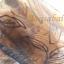 ม่านประตูกันยุงไซส์พิเศษ Hi-end 160x210 ซม.สีน้ำตาล แบบทอลายกำมะหยี่-ดอกไม้ thumbnail 7