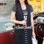 เสื้อผ้าแฟชั่นเกาหลี Seoul Secret Say's... Chic Stripy Fashion&Classic YANYA Dahlia Chill Dress thumbnail 2