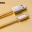 สายชาร์จ REMAX GOLD Series Micro USB thumbnail 1
