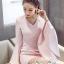 เสื้อผ้าแฟชั่นเกาหลี Lady Ribbon Thailand Seoul Secret Say'...Sweet Pink Sleeveless Bell Sleeve Mini Dress thumbnail 3