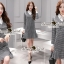Seoul Secret Say's... Scotty V White Collar Dress thumbnail 1