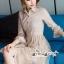 เสื้อผ้าแฟชั่นเกาหลี Lady Ribbon Thailand Seoul Secret Say'...T-Shirt Lace Dress Style Korea Classic Design thumbnail 2