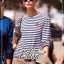 Elisa made Heart Beat Stripe Shirt Chilling Outfit thumbnail 4