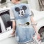 Seoul Secret Say's... Mic Net Sleeve Shirt Outer DRess thumbnail 3