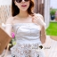 Seoul Secret Say's... Smoking Daisy Bowy Open Shoulder Blouse thumbnail 4