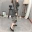 Elisa made Classy pleaty feminine see through Modern Dress thumbnail 6