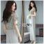 เสื้อผ้าแฟชั่นเกาหลี Lady Ribbon Thailand Lady Ribbon's Made Lady Zara Summer Style Floral Printed Jumpsuit thumbnail 3