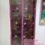 ม่านประตูกันยุง Hi-end 100x210 ซม. แบบปักลายดอกไม้ สีชมพู thumbnail 5