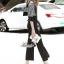 เสื้อผ้าแฟชั่นเกาหลี Lady Ribbon Thailand Korea Design By Lavida Fashionable striped printing jumpsuit code1814 thumbnail 3