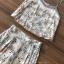 เสื้อผ้าแฟชั่นเกาหลี Lady Ribbon Thailand Seoul Secret Say's...Sweet Pastel Flower Pattern Set thumbnail 4
