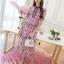 เสื้อผ้าแฟชั่นเกาหลี Lady Ribbon Thailand Korea Design By Lavida Arty vintage embroidery ribbon neck dress thumbnail 4