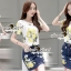Seoul Secret Say's... Lemony Sour-Sweety Chic DenimSkirt Set thumbnail 2