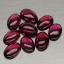 พลอยโกเมนหลังเบี้ย (Rhodolite Garnet) พลอยธรรมชาติแท้ น้ำหนัก 5.15 กะรัต thumbnail 1