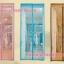 ม่านประตูกันยุง รุ่นเกรดเอ ไชส์ 90 แบบผ้าทอลาย 5 สี