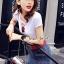 Seoul Secret Say's... Rose T Shirt with Pierce Denim Skirt Set thumbnail 3