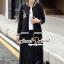 Seoul Secret Say's... Ladiest Chill Out Jacket Lace Skirt Set thumbnail 1
