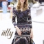 เสื้อผ้าแฟชั่นเกาหลี Lady Ribbon Thailand Normal Ally Present Graphic print boutique dress thumbnail 2