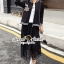 Seoul Secret Say's... Ladiest Chill Out Jacket Lace Skirt Set thumbnail 5
