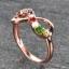 แหวนนพเก้า Infinity แหวนพลอยแท้ เพชรแท้ ตัวเรือนพิ๊งค์โกลด์ thumbnail 5