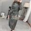 Elisa made Classy pleaty feminine see through Modern Dress thumbnail 10