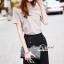 Seoul Secret Say's... Slantly Blouse Pants Set thumbnail 3