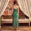 เสื้อผ้าแฟชั่นเกาหลี Lady Ribbon Thailand Normal Ally Present Summer print dress thumbnail 3
