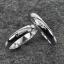แหวนคู่รักทองคำขาว สลักชื่อ thumbnail 1