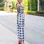 เสื้อผ้าแฟชั่นเกาหลี Lady Ribbon Thailand Normal Ally Present Exhibition.S new collection, embroidered flower summer playsuit thumbnail 3