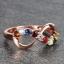 แหวนนพเก้า Infinity แหวนพลอยแท้ เพชรแท้ ตัวเรือนพิ๊งค์โกลด์ thumbnail 6