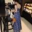 เสื้อผ้าแฟชั่นเกาหลี Lady Ribbon Thailand Morning Posh Present D&G summer collection thumbnail 3