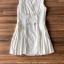 เสื้อผ้าแฟชั่นเกาหลี Lady Ribbon Thailand Seoul Secret Say's...Sleeveless Dress White Behind The Triangle thumbnail 4