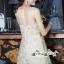 เสื้อผ้าแฟชั่นเกาหลี Lady Ribbon Thailand Seoul Secret Say'...Gold Minidress Lace Embroidery Design expensive thumbnail 3