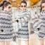 Seoul Secret Say's... Stylishness Laver Lace Belly Dress thumbnail 2