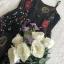 เสื้อผ้าแฟชั่นเกาหลี Lady Ribbon Thailand Seoul Secret Say's ...White Line Dress With Black Fancy Stripes thumbnail 8