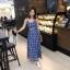 เสื้อผ้าแฟชั่นเกาหลี Lady Ribbon Thailand Morning Posh Present D&G summer collection thumbnail 1