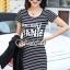 เสื้อผ้าแฟชั่นเกาหลี Seoul Secret Say's... Chic Stripy Fashion&Classic YANYA Dahlia Chill Dress thumbnail 4