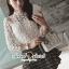 Seoul Secret Say's... Ivory Daisy Lace Blouse thumbnail 1
