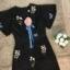 เสื้อผ้าแฟชั่นเกาหลี Normal Ally Embroider flower by W.L new collection 2018 playsuit thumbnail 5