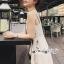 เสื้อผ้าแฟชั่นเกาหลี Lady Ribbon Thailand Seoul Secret Say'...Embroidered Linen Dress crystal Oblique thumbnail 2