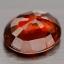 พลอยโกเมน(Spessartite Garnet) พลอยธรรมชาติแท้ น้ำหนัก 1.15 กะรัต thumbnail 3