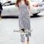 Seoul Secret Say's... Nifty Stripy Bowwy Waist Playsuit thumbnail 2